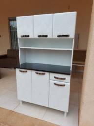 Armário de cozinha de aço novo
