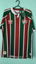 Camisa do Fluminense Tricolor Masculina 2020/21