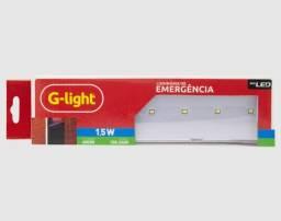 Título do anúncio: Luminária de Emergência G-Light 7 Leds com Bateria de Lítio Bivolt