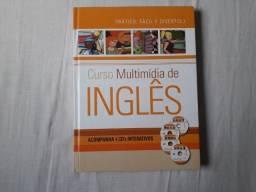 """Livros de Inglês + 04 CD""""s (Treinamento do Idioma)."""