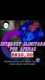 Título do anúncio: lNTERNET lLIMITADA NORDESTE