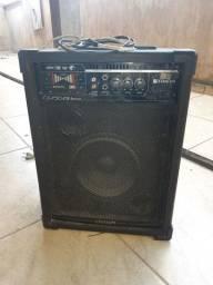 Caixa de som amplificadora Bluetooth radio pendrive