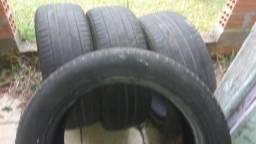 Vendo 4 pneus 215/55 aro 17 Michelin