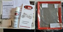 Para Fusion 2.0 ecoboost - filtro de ar esportivo InFlow e válvula de prioridade (espirro)