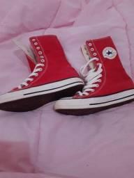 Tênis all star vermelho original