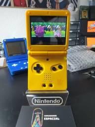 Título do anúncio: Game Boy Advance SP Edição Pikachu Ips v2