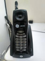 Telefones sem fio usados com carregadores à partir de