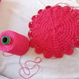 Vendo peças em crochê