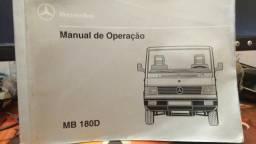Manual de operação mb180