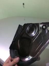 Capa da Correia cromada motor ap