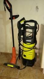Lavadora de Alta pressão e cortador de grama