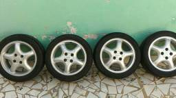 Troco rodas Chevrolet calibra