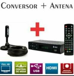Kit conversor digital+ Antena HD