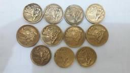 Lote com 30 moeda Antiga