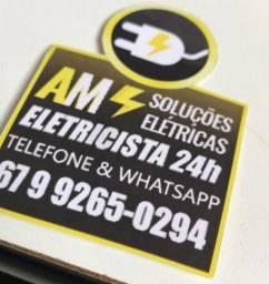 Eletricista atendimento 24 horas