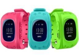 Relógio com função celular e GPS localizador para criança