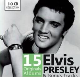 Elvis Presley 10 Cd Collection Box 15 Album Importado e Lacrado Pronta Entrega