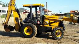 Retro escavadeira JCB 3C Plus - 2010 - Não Aceito Trocas