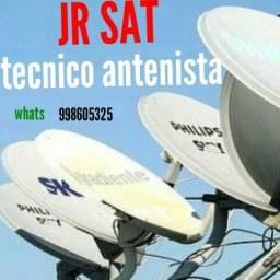 Instalaçao de antenas e receptores