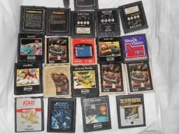 Atari lote com 20 cartuchos c/ jogos -cce-Dactar-Polyvox-, usado comprar usado  São Gonçalo