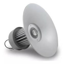 Luminária Led Industrial High bay Branco Frio 50w Bivolt
