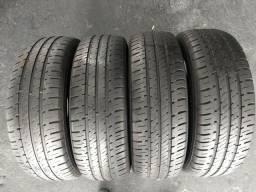 Quatro pneus 175/65/14 Goodyear