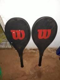 Par de raquetes de tenis