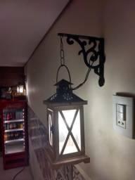 Luminária Arandela Retrô tipo lanterna