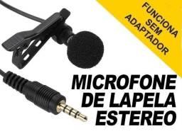 Microfone de Lapela / Iphone / Android / Youtubers / Desconfie de Produtos Baratos