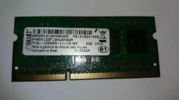 Memória ram ddr 3 4 gb
