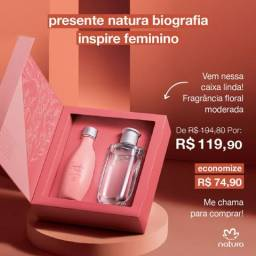 Kit Natura Biografia Feminino