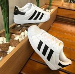 Tênis Adidas SuperStar Branco -- 34 ao 43