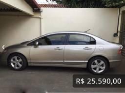 Civic LXS 1.8 16v - 2008