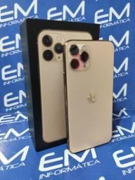 11 Pro Max 64GB Gold Apple - Seminovo - aceito seu iphone usado como entrada
