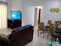 Apartamento com 3 dormitórios à venda, 85 m² por R$ 350.000,00 - J Jeriquara - Caldas Nova