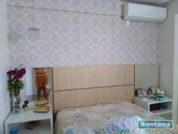 Apartamento com 3 dormitórios à venda, 85 m² por R$ 310.000,00 - Setor Oeste - Caldas Nova