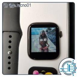 Relógio inteligente smartwatch X7 personaliza com foto, versão atualizada