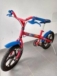 Bicicleta do Homem Aranha
