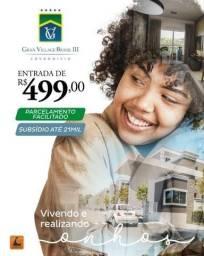 Entrada de 500,00 Apartamento no Turu com Suite e Varanda Gourmet Itbi e Cartório Grátis