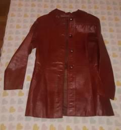 Jaqueta couro antiguidade