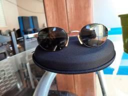 Óculos de sol feminino banhado a ouro 18k
