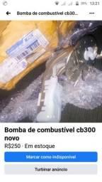 Bomba de combustível cb 300, 2012 a 2015