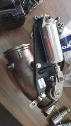 Curva do freio motor com pistão volvo
