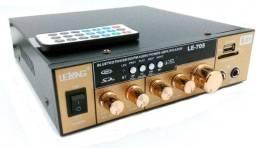Módulo Amplificador De Áudio Bluetooth Lelong Le-705 - Imperium Informatica