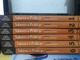 Série Curso de Enfermagem 6 volumes + livro de feridas