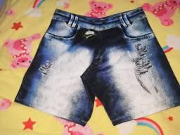 Bermuda Sublimada Jeans Tam (G)