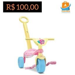 Triciclo Tchuco Unicórnio + Entrega Grátis