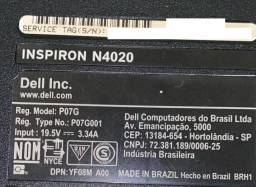Notebook Dell Inspirion N4020