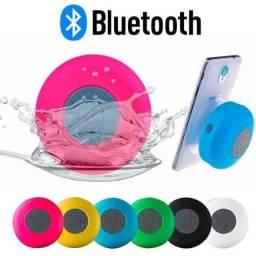 Caixa de Som Banheiro resiste a água Bluetooth Android E Ios Na Cor Rosa