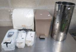 """Oferta Imperdível - Acessórios de higiene usados """"No estado"""""""